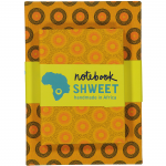yellow shweshwe notebook