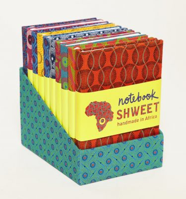 A6 Shweshwe Notebooks