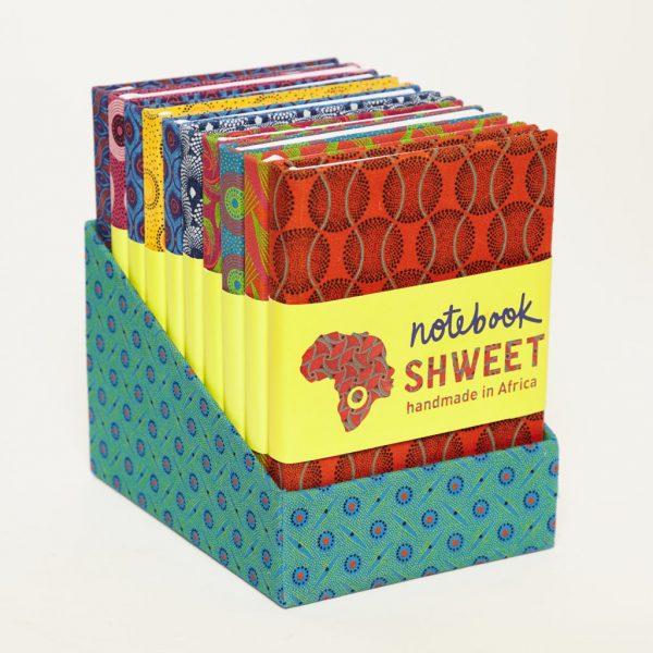 A6 Shweshwe Notebooks