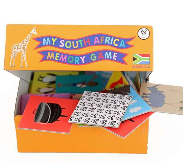 My South Africa Memory Game
